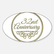 32nd Anniversary Decal
