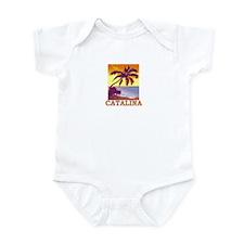 Catalina Island, California Infant Bodysuit