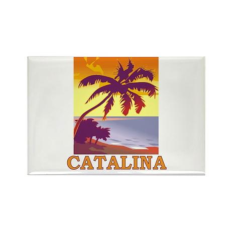 Catalina Island, California Rectangle Magnet (100