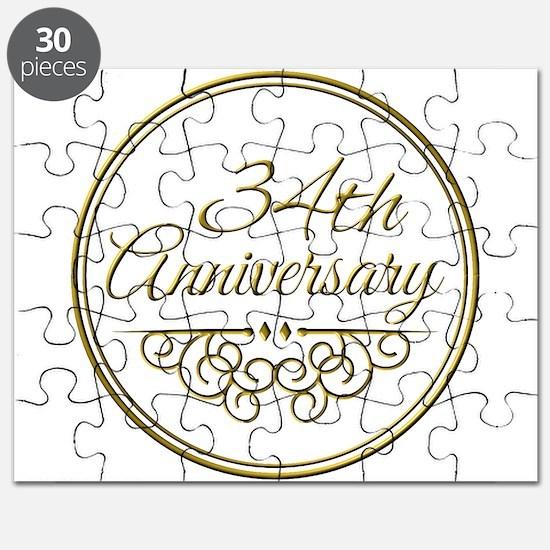 34th Anniversary Puzzle