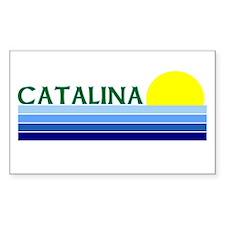 Catalina Island, California Rectangle Decal