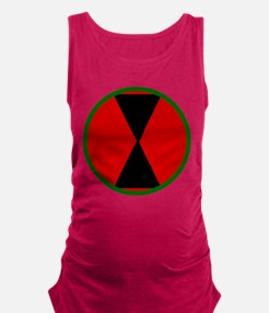7th Infantry Division Maternity Tank Top