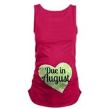 Due in august Dark Maternity Tank Top