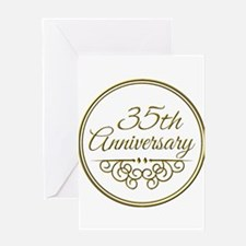 35th Anniversary Greeting Cards