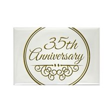 35th Anniversary Magnets