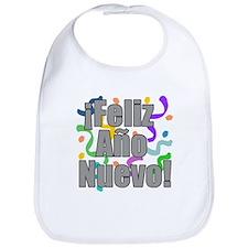 Feliz Ano Nuevo Kids Shirt Bib