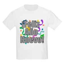 Feliz Ano Nuevo Kids Shirt T-Shirt