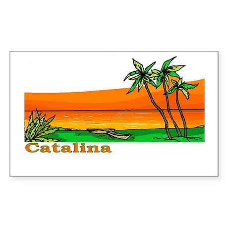 Catalina Island, California Rectangle Sticker