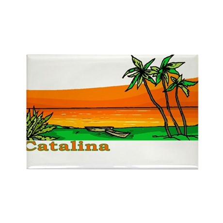 Catalina Island, California Rectangle Magnet (100