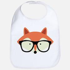Hipster Red Fox Bib