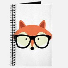 Hipster Red Fox Journal