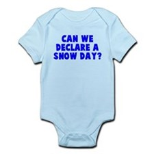 Declare a Snow Day Infant Bodysuit