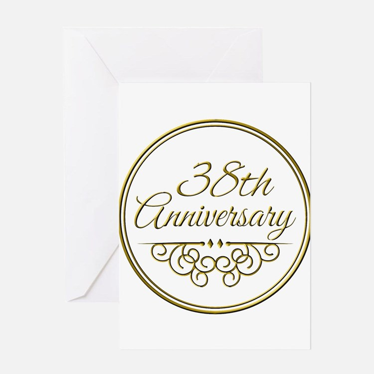 38th Wedding Anniversary 38th Wedding Anniversary Greeting