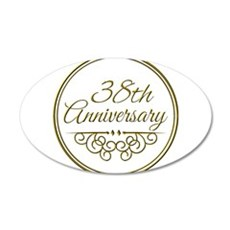 38th Anniversary Wall Decal