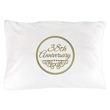 38th Anniversary Pillow Case