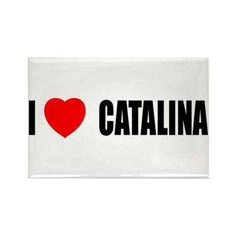 I Love Catalina Island, Calif Rectangle Magnet (10
