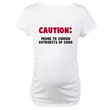 Caution Outbursts of Song Shirt