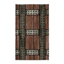 Medieval Chest 3'x5' Area Rug