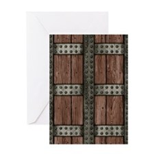 Medieval Chest Greeting Card