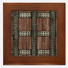 Medieval Chest Framed Tile