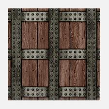 Medieval Chest Tile Coaster