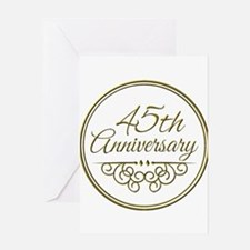 45th Anniversary Greeting Cards