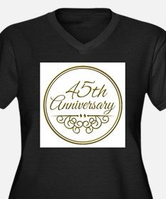 45th Anniversary Plus Size T-Shirt