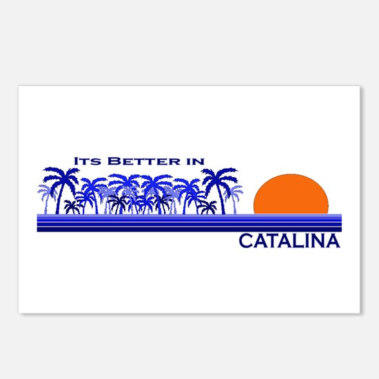 Its Better in Catalina Island Postcards (Package o