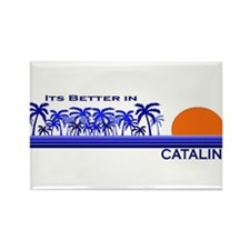Its Better in Catalina Island Rectangle Magnet (10