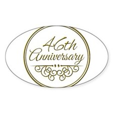 46th Anniversary Decal