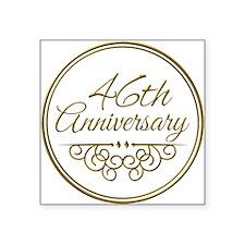 46th Anniversary Sticker