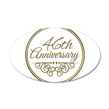 46th Anniversary Wall Decal
