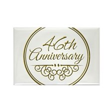 46th Anniversary Magnets