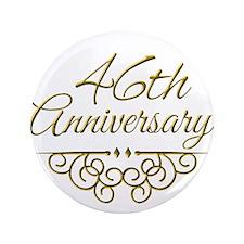 """46th Anniversary 3.5"""" Button"""