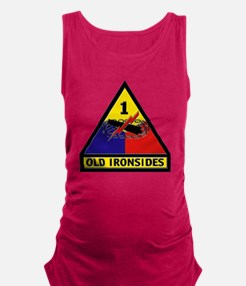 1st Armored Division Maternity Tank Top