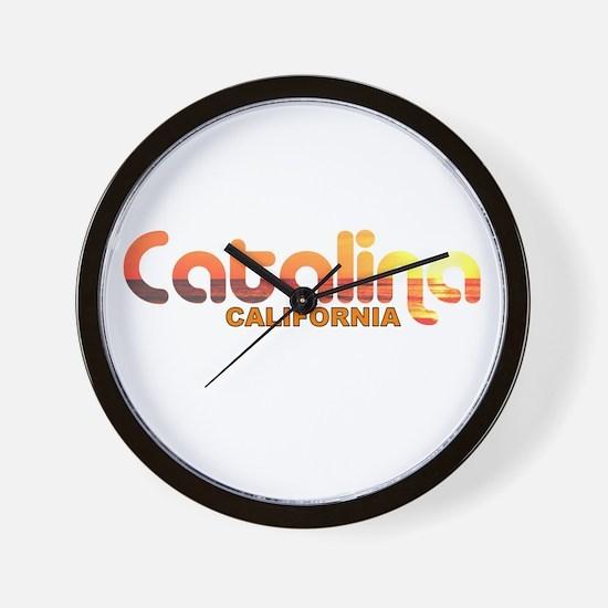 Catalina Island, California Wall Clock