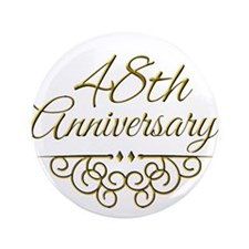 """48th Anniversary 3.5"""" Button (100 pack)"""