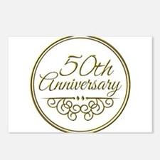 50th Anniversary Postcards (Package of 8)