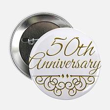 """50th Anniversary 2.25"""" Button"""