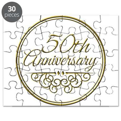 50th anniversary puzzle by admin cp49789583 - Color of th anniversary ...