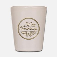 50th Anniversary Shot Glass