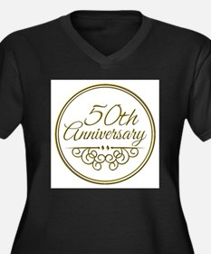 50th Anniversary Plus Size T-Shirt