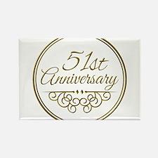 51st Anniversary Magnets