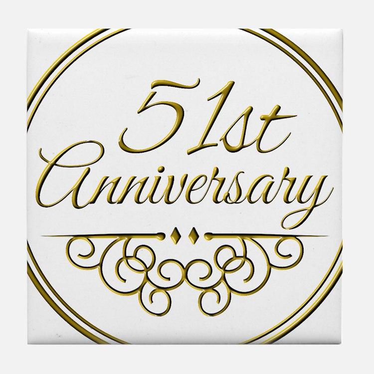 Wedding Anniversary Gift 57 Years : 51St Wedding Anniversary 51st Wedding Anniversary Coasters Cork ...