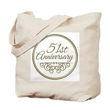 51st Anniversary Tote Bag