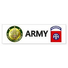 82nd Airborne Bumper Sticker