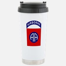 82nd Airborne Stainless Steel Travel Mug