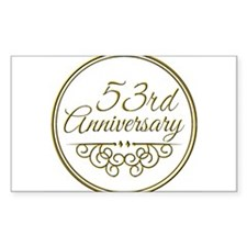 53rd Anniversary Decal