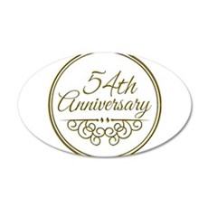 54th Anniversary Wall Decal