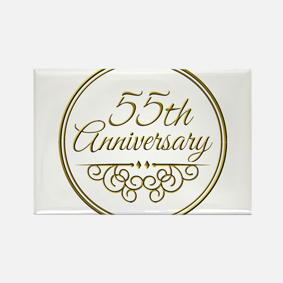 55th Anniversary Magnets